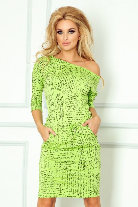 Sporty dress - paper + Green 13-35