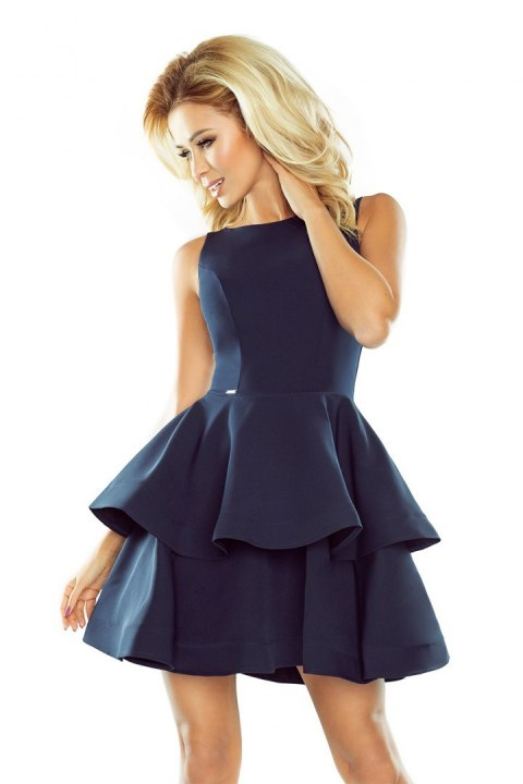 169-2 Dress CRISTINA - navy blue