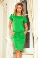 56-6 Sports dress with short sleeves - green